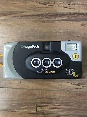 imagetech 3d fx 3d camera with box (not tested)