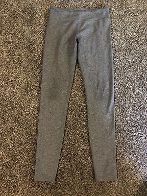 Ivivva heathered gray leggings sz. 12 gently worn with small tear in knee