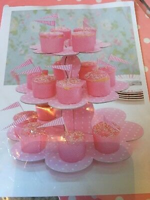 Cupcake Cake Stand, Pink - Brand New, Perfect for party, baby shower, wedding