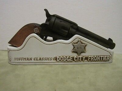 1975 HOFFMAN CLASSIC Pistol Series DODGE CITY FRONTIER GUN Mini Decanter Empty
