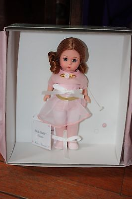 """New in Box Madame Alexander Pink Ballet Class Doll 8"""""""