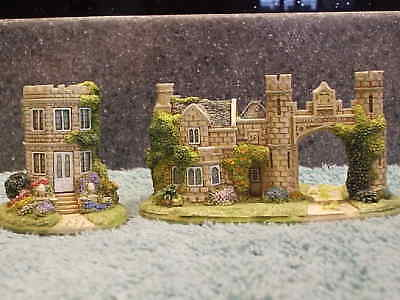 Lilliput Lane .. THE SUMMER HOUSE & PORTERS LODGE .. 2 Day Only Special Edition