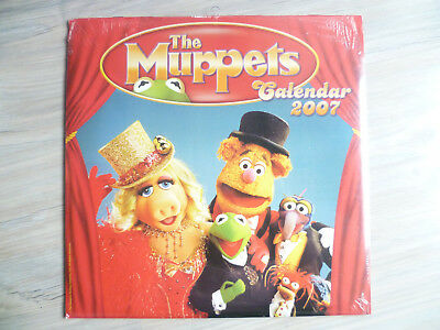 THE MUPPETS  Poster Kalender alt / In Folie 2007