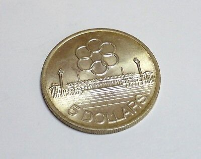 5 Dollar Singapore 1973 Silber Olympia Asien Games