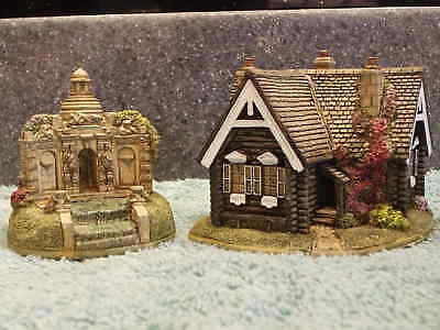 Lilliput Lane .. RUSSIAN COTTAGE & CASCADE HOUSE .. 2 Day Only Special Edition