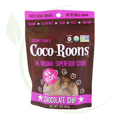 Coco Roons Organic Chocolate Chips Vegan 85g