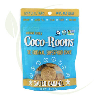 Coco Roons Organic Salted Caramel Vegan 85g