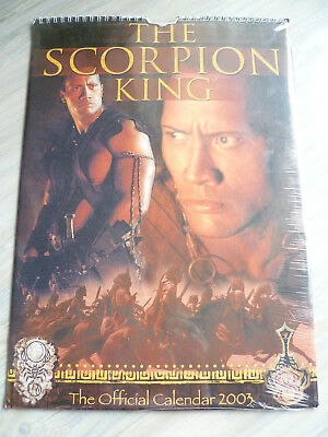 Kalender Posterkalender THE SCORPION KING  2003  Dwayne Johnson The Rock