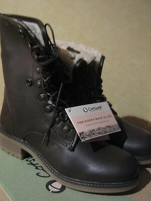 "Cotswold ""Asthall"" Dk Brown Waterproof Leather 8 Eye Lace Up Two Way Boot SALE"