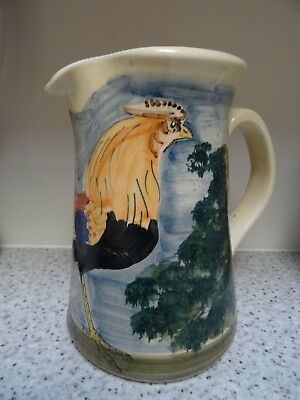 Rooster Jug From Iden Pottery