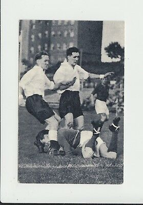 1952 Olympics : Football : GB v Luxembourg : Dutch Planta sports card