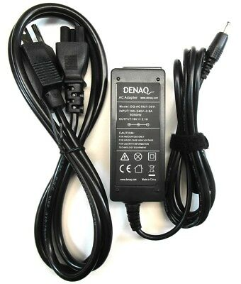 Denaq for Samsung Laptop Charger AC Adapter Power Supply 19V 2.1A 40W 3.0mm Tip