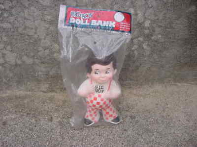 Vintage 1973 Big Boy Doll Bank Mint In Original Unopened Package