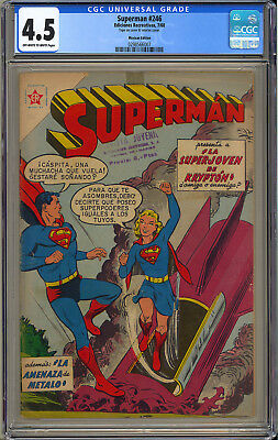 Action Comics #252 (Mexican) RARE 1st App. Supergirl Superman DC 1960 CGC 4.5