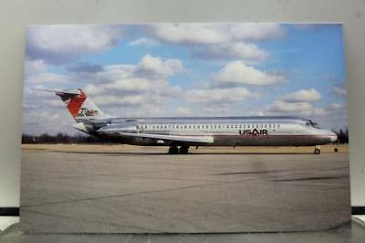 Aircraft USAIR McDonnell Douglas Postcard Old Vintage Card View Standard Post PC