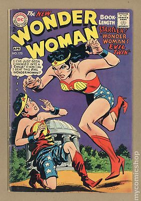 Wonder Woman (1st Series DC) #175 1968 GD/VG 3.0