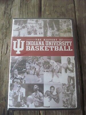 """New DVD-""""The History of Indiana University Basketball"""", 90min., Read Details"""