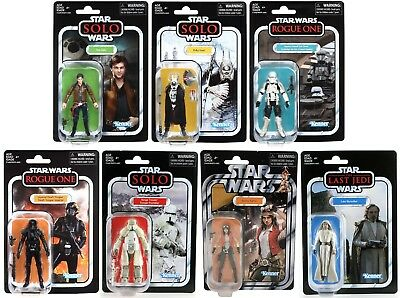 Star Wars Hasbro Vintage Collection 2018 Wave 2 & 3 Set of 7 VC124-VC131