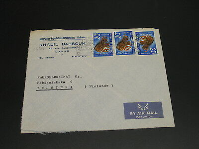 Senegal 1970 Airmail cover to Finland *16137