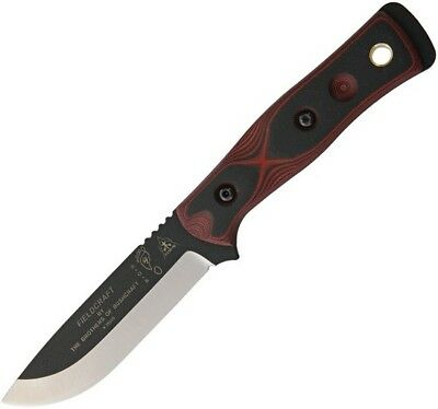 Tops BROSRB Bob Brothers of Bushcraft Hunter Hunting Fixed Blade Survival Knife