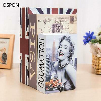 OSPON Book Safes Metal Steel Cash Secure Hidden Dictionary Booksafe Homesafe ...