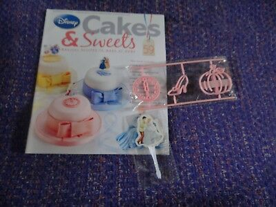 Eaglemoss Disney Cakes & Sweets Magazine #59 with Free Gifts