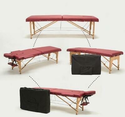 Portable Folding Massage Bed with Carring Bag Professional Adjustable SPA The...