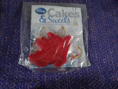 Eaglemoss Disney Cakes & Sweets Magazine #84 With Free Gift New