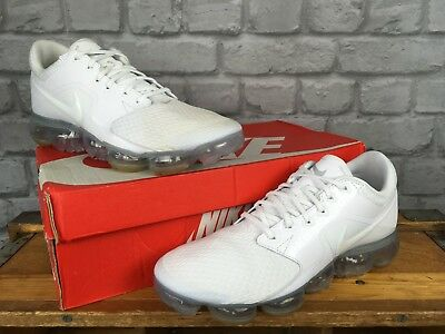 new product 25e95 d3a07 Nike Mens Air Vapormax White Trainers Various Sizes Rrp £150