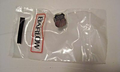 Nos Vintage Union Pacific Railway Railroad Barlow Pin / Tie Tack In Sealed Pack