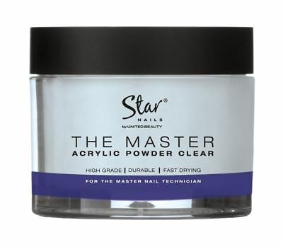 Star Nails Master acrylic clear powder 40G