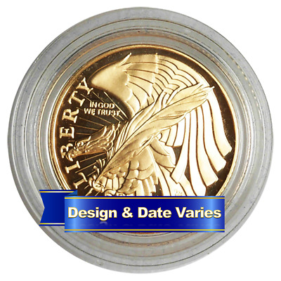 U.S. $5 Gold Commemorative Random Year Proof or Uncirculated