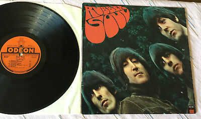 The Beatles#Rubber Soul#Odeon OSX 232#Frankreich 1965#rares Label m. Sternchen!