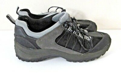 GBX Hiking, Walking Shoes Mens Black Suede Lace Up Size 11M