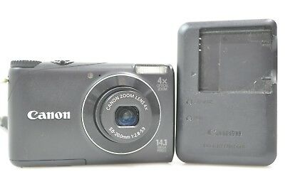 Canon PowerShot A2200Digital Point & Shoot Camera W/ Battery Charger --P/R