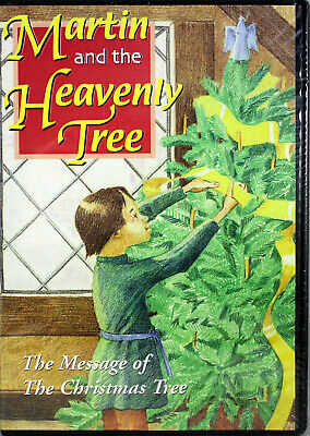 Martin and the Heavenly Tree NEW DVD Children Family Message of Christmas Tree