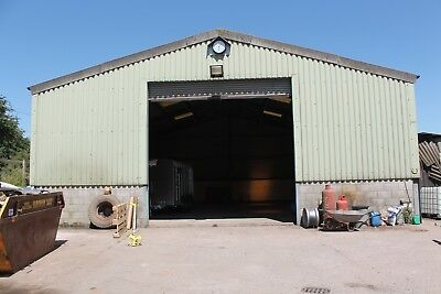 Steel Framed Clear Span Building Approx 45FT Long x 40FT Wide x 18FT Eaves