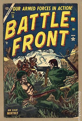 Battlefront (Atlas) #18 1954 VG+ 4.5