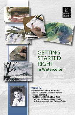 Getting Started Right in Watercolor by Jan Kunz - Art Education DVD