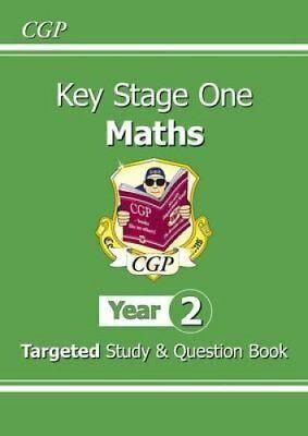 KS1 Maths Targeted Study & Question Book - Year 2 by CGP Books 9781782941361