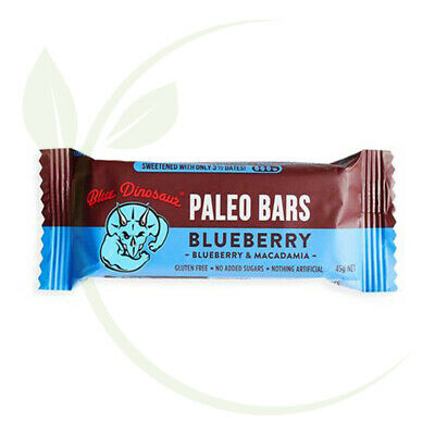 Paleo Bars Blueberry Paleo Bar - 45g     ( This colour size need to update th...