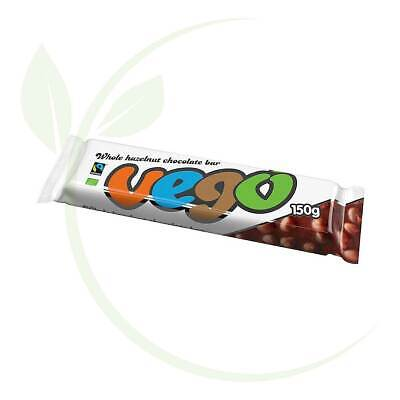 VEGO Large Hazelnut Chocolate Bar 150g
