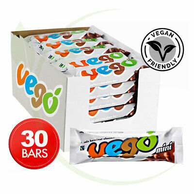 VEGO Hazelnut Chocolate Bar Mini 30x65g