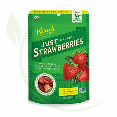 Karen's Naturals Organic Just Strawberries 34g