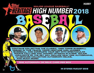 2018 Topps Heritage High Numbers Short Prints SP 701-725 You Pick Your Lot