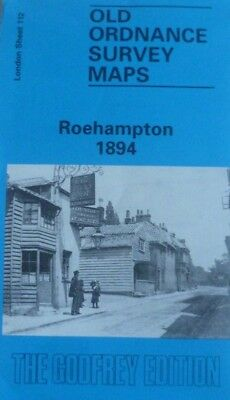 Old Ordnance Survey Maps Roehampton London 1894 Sheet 112