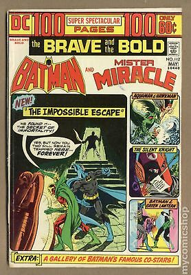 Brave and the Bold (1st Series DC) #112 1974 VG 4.0