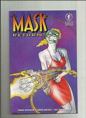The Mask Returns #3 vfn/nm 1993 scarce Dark Horse Comics US comics