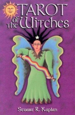 New, The Tarot of the Witches Book, Kaplan, Stuart R, Book