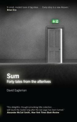 Sum Tales from the Afterlives by David Eagleman 9781847674272 (Paperback, 2009)